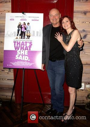 Terry O'quinn and Carrie Preston
