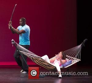 Dennis Haysbert and Minnie Driver 'The 24 Hour Plays' at Festival Del Sole - Performance Yountville, California - 14.07.12