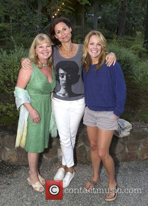 Jane Wolf, Minnie Driver and Andrea Anders 'The 24 Hour Plays' after performance dinner at Wolf Family Vineyard Yountville, California...