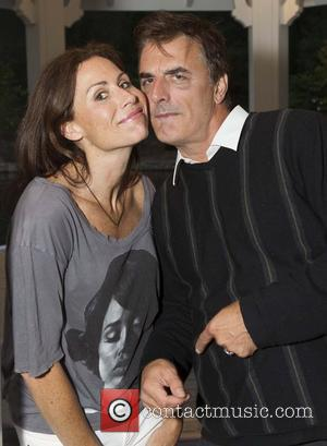 Minnie Driver and Chris Noth 'The 24 Hour Plays' after performance dinner at Wolf Family Vineyard Yountville, California - 14.07.12