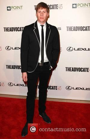 Dustin Lance Black  The Advocate 45th presented by Lexus at The Beverly Hilton Hotel - Arrivals  Los Angeles,...