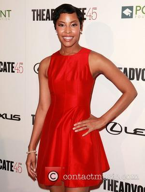 Tracey Heggins The Advocate 45th presented by Lexus at The Beverly Hilton Hotel - Arrivals Los Angeles, California - 29.03.12
