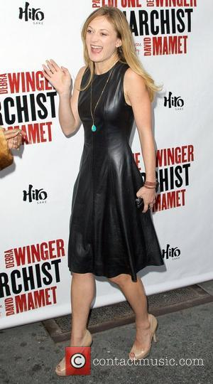 Marin Ireland,  at the Broadway opening night of 'The Anarchist' at the Golden Theatre - Arrivals. New York City,...