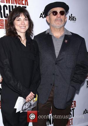 Rebecca Pidgeon, David Mamet, Broadway, The Anarchist, Golden Theatre and Arrivals. New York City