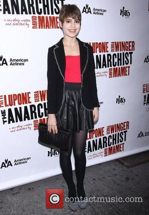 Sami Gayle from the TV show 'Bluebloods' at the Broadway opening night of 'The Anarchist' at the Golden Theatre -...