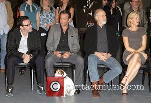 Jean Dujardin, James Cromwell and Penelope Ann Miller