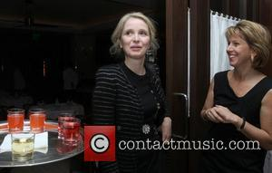 Julie Delpy and guest The Wrap.com and Ciroc Oscar Nominee Dinnerfor 'The Artist' held at Mr C in Beverly Hills...