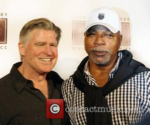 Treat Williams and Guest The Asylum celebrates its 15th Anniversary of 100 films at Santa Monica Pier  Santa Monica,...