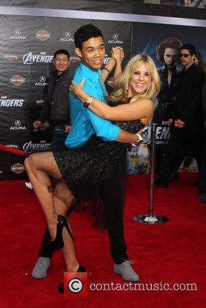 Chelsie Hightower, Roshon Fegan  World Premiere of The Avengers at the El Capitan Theatre - Arrivals Hollywood, California -...