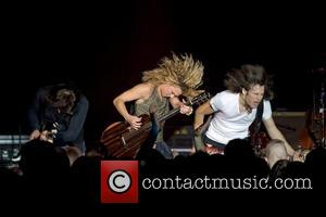 The Band Perry performing live at Lisebergshallen Gothenburg, Sweden- 09.11.12