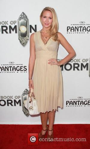 Anna Camp   'The Book of Mormon' Opening night held at the Pantages Theatre - Arrivals Hollywood, California -...