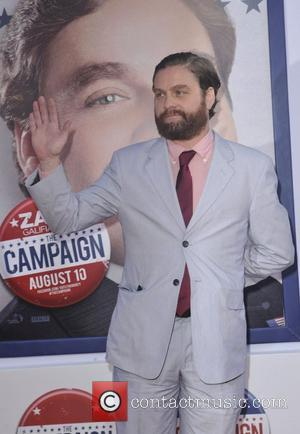Zach Galifianakis and Grauman's Chinese Theatre