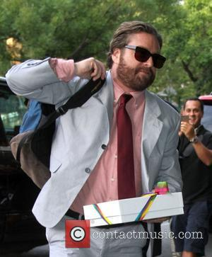 Zach Galifianakis Screening of 'The Campaign' at the Landmark's Sunshine Cinema New York City, USA - 25.07.12