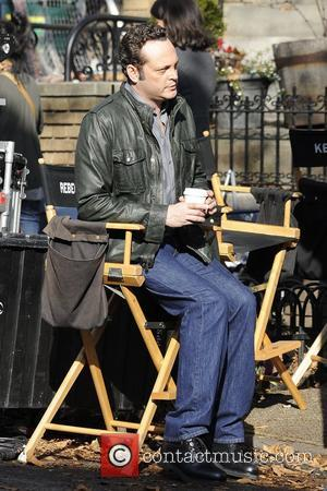 Vince Vaughn  Actors seen on the film set of 'The Delivery Man' New York City, USA- 03.12.12
