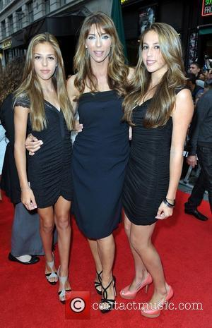 Sophia Stallone, Jennifer Flavin & Sistine Stallone 'The Expendables 2' UK Premiere held at the Empire Leicester Square - Arrivals...