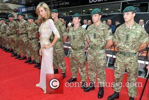 Lady Victoria Hervey 'The Expendables 2' UK Premiere held at the Empire Leicester Square - Arrivals London, England - 13.08.12