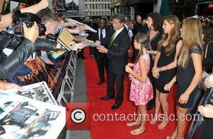 Sylvester Stallone and Empire Leicester Square