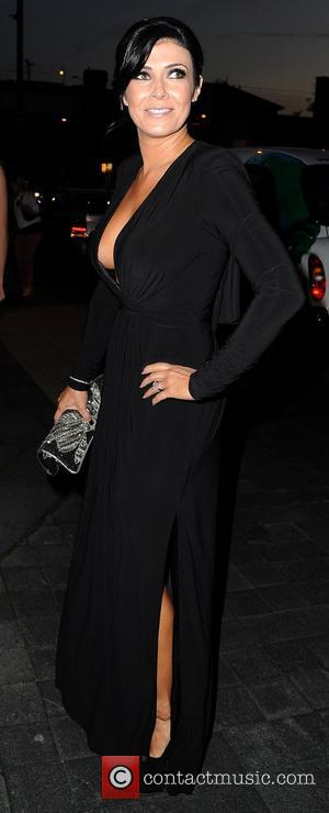 Kym Marsh The Genesis Ball 2012, held at the Hilton Hotel - Arrivals Manchester, England - 22.09.12