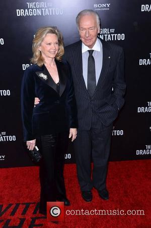 Christopher Plummer  The Girl With The Dragon Tattoo New York Premiere - Arrivals  New York City, USA -...