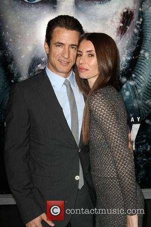 Dermot Mulroney and Tharita Catulle The World Premiere Of The Grey  held at the Regal Cinemas - Arrivals Los...
