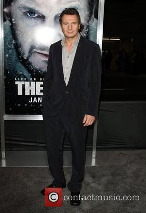 Liam Neeson The World Premiere Of The Grey  held at the Regal Cinemas - Arrivals Los Angeles, California -...