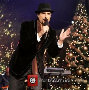 Backstreet Boys (L-R) Brian Littrell and Kevin Richardson 10th Annual Hollywood Christmas Celebration at The Grove Los Angeles, California -...