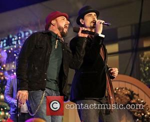 Backstreet Boys (L-R) Kevin Richardson, and A.J. McLean 10th Annual Hollywood Christmas Celebration at The Grove Los Angeles, California -...
