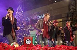 Backstreet Boys, A, L-R, Kevin Richardson, Nick Carter, J. McLean and Howie Dorough