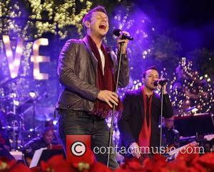Backstreet Boys (L-R) Nick Carter and Howie Dorough 10th Annual Hollywood Christmas Celebration at The Grove Los Angeles, California -...