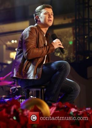 Scotty McCreery 10th Annual Hollywood Christmas Celebration at The Grove Los Angeles, California - 11.11.12