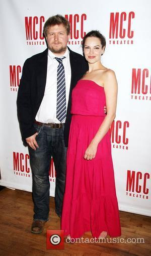 Michael Chernus, Tammy Blanchard  'The Heart of the Matter' cast celebration at Ramscale - Arrivals  New York City,...