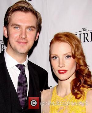 Dan Stevens and Jessica Chastain