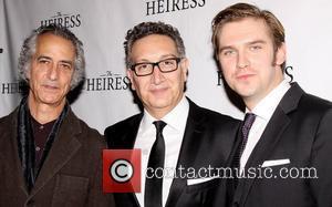 David Strathairn, Moises Kaufman and Dan Stevens