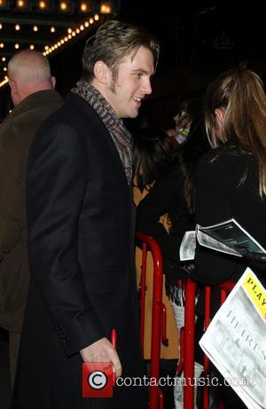 Dan Stevens Actors outside The Walter Kerr Theatre for the Broadway play 'The Heiress'  Featuring: Dan Stevens Where: New...