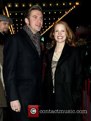 Dan Stevens and Jessica Chastain