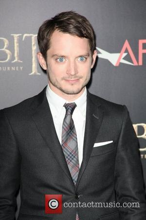 Elijah Wood,  at premiere of 'The Hobbit: Unexpected Journey' at the Ziegfeld Theater. New York City, USA - 06.12.12