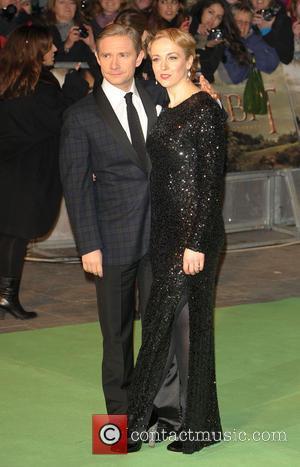 Amanda Abbington; Martin Freeman The Hobbit: An Unexpected Journey - UK premiere - Arrivals  Featuring: Amanda Abbington, Martin FreemanWhere:...