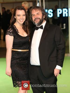Peter Jackson with his daughter Katie Jackson The Hobbit: An Unexpected Journey - U.K. premiere - Arrivals London, United Kingdom...