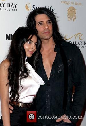 Criss Angel, Sandra Gonzalez  The opening of Michael Jackson's 'The Immortal World Tour' at the Mandalay Bay Resort and...