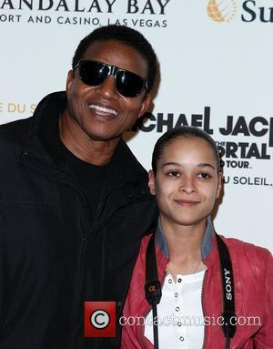 Jackie Jackson, Daughter Brandi Jackson  The opening of Michael Jackson's 'The Immortal World Tour' at the Mandalay Bay Resort...
