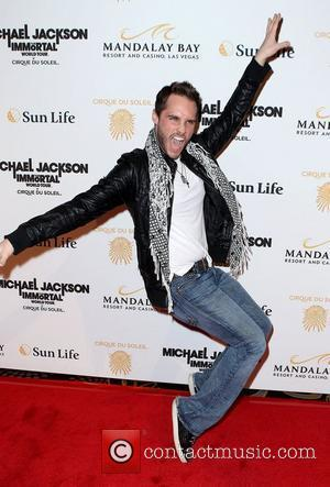 Josh Strickland  The opening of Michael Jackson's 'The Immortal World Tour' at the Mandalay Bay Resort and Casino Las...