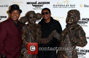 Tito Jackson, Jackie Jackson  The opening of Michael Jackson's 'The Immortal World Tour' at the Mandalay Bay Resort and...