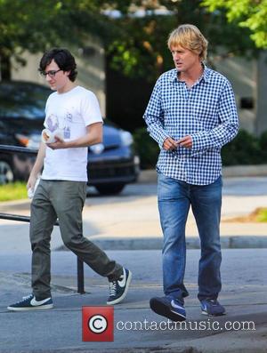 Owen Wilson  on the film set of his new movie 'The Internship' in Atlanta Atlanta, USA - 23.08.12
