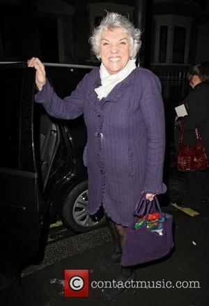 'Cagney and Lacy' star Tyne Daly at the Ivy London, England - 01.12.11