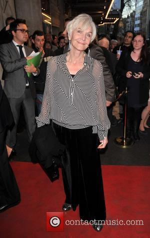 Sheila Hancock 'The King's Speech' press night held at the Wyndham's Theatre - Arrivals.  London, England - 27.03.12