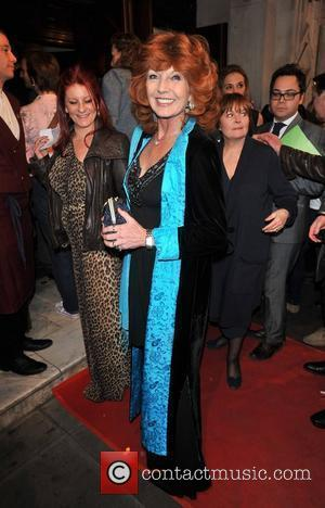 Rula Lenska 'The King's Speech' press night held at the Wyndham's Theatre - Arrivals.  London, England - 27.03.12