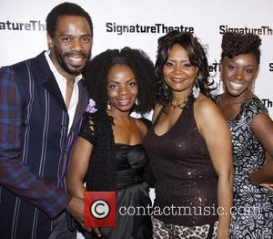 Colman Domingo, Marsha Stephanie Blake, Tonya Pinkins and Saycon Sengbloh Opening night after party for 'The Lady From Dubuque' at...