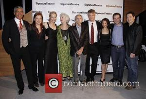 Laila Robbins, Edward Albee, Jane Alexander and Thomas Jay Ryan