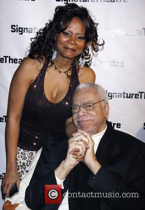 Tonya Pinkins and Earle Hyman Opening night after party for 'The Lady From Dubuque' at Signature Theatre Company's Pershing Square...