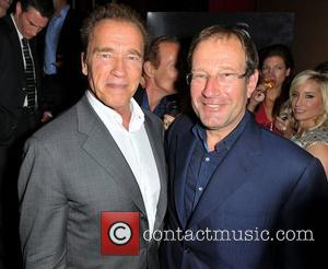Arnold Schwarzenegger and Richard Desmond